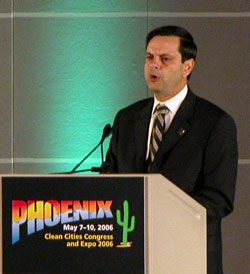 Phoenix Mayor Phil Gordon