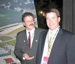 Bob Moffit and Matt Hartwig