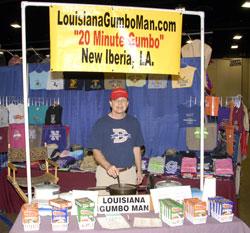 Louisiana Gumbo Man