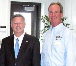 Nebraska Governor Dave Heineman & Todd Sneller