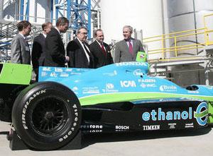 Bush and IndyCar