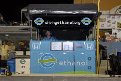 Rahal-Letterman Ethanol Car Command Center