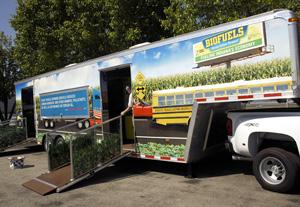 Indiana Corn Marketing Council Mobile Marketing Unit