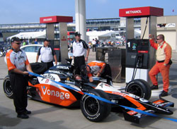 Fueling An Indy Car
