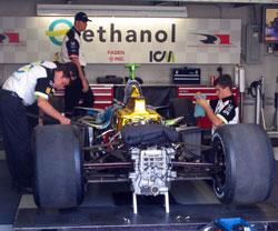 Ethanol Car In Garage