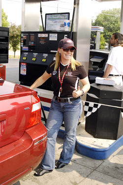 Gas America Pump Promotion