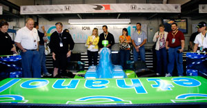 EPIC members get privileged access to the Team Ethanol garage at the 2008 Indy 500