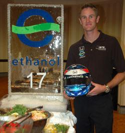 Team Ethanol IndyCar Driver Ryan Hunter-Reay