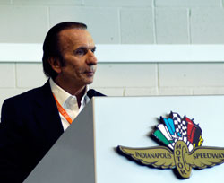 Indy Racing Legend Emerson Fittipaldi at the 2008 Ethanol Summit
