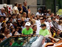 Petron IndyCar Driver Scott Sharp