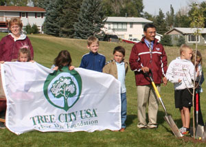 Spearfish Tree Planting