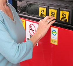 Woman Ethanol