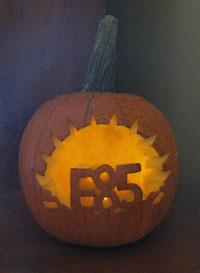 e85 halloween pumpkin