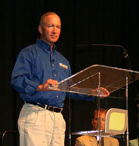 POET opening Mitch Daniels