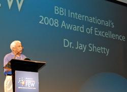 FEW 08 Excellence Award