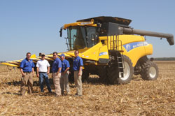 New Holland Harvest Crew