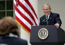 Bush press conference