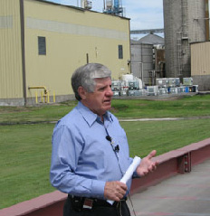 Ben Nelson at Hastings ethanol plant