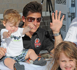 Marco Andretti and Marcus