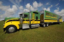 Drive Green Truck