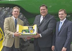John Deere Announcement With Mayor