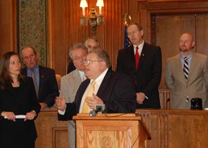 John Urbanchuk at Missouri Capitol