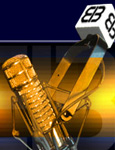 Gold EIB Microphone