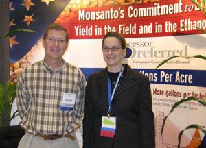 Monsanto booth
