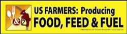 Corn Bumper Sticker