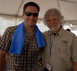 Joe Jobe and Chuck Leavell