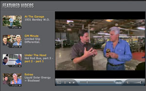 Jay Leno's Garage Video