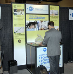 Podtrac Booth