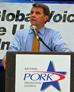 World Pork Expo 2008 Chuck Conner
