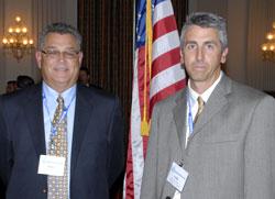Mike Peacock and Kirk Morrow