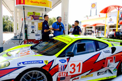 Pumping the American Le Mans Series #31 Ferrari F430 GT with E10 fuel