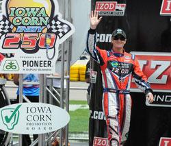 Ryan Hunter Reay Iowa Corn Indy 250