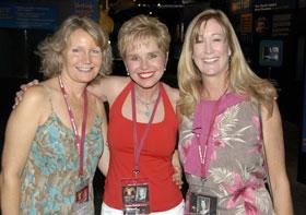 Margaret, Laurie, Karen