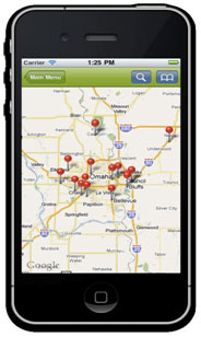 iphone store locator new ethanol fuel finder app from rfa energy 12355