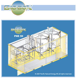 Pacific Natural Energy's BioBox