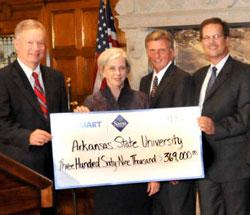 Ark State Walmart Donation