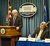 USDA press briefing