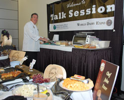 world dairy expo 2010 wisconsin milk board cheese chef