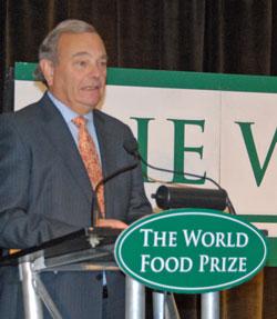 World Food Prize Gordon Conway