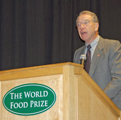 World Food Prize Chuck Grassley