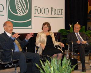 World Food Prize Laureates McGovern Bertinin Dole